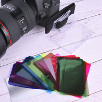 18 Color Universal Flash Speedlite Speedlight Color Gel Filtros Difusor de color