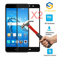 2Pcs Full Cover Tempered Glass Screen Protector For Huawei Ascend XT2 / Elate 4