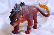Red XIII from Final Fantasy 7 Handmade Sculpture Figure OOAK