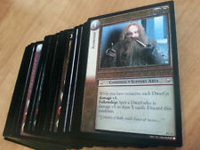 LOTR TCG Lord of the Rings SIEGE OF GONDOR Common Set INCOMPLETE 39/40 Cards
