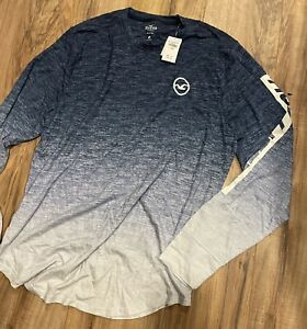 Hollister mens long sleeve t-shirt XL NEW - Hard To Find color!
