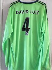 Chelsea David Luiz 4 2010-2011 Third Away Football Shirt Size XXL /8233