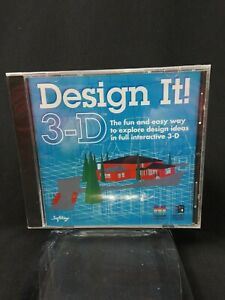 Design It 3-D CD for PC and Mac Designer Ideas Architecht Engineer Planning New