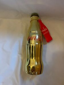 Limited Edition!! 100 Years Of Coca-Cola Golden Bottle. SEALED. 373 Of 2500 MADE