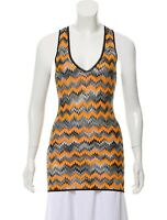 MISSONI MARE Chevron Knit Multi-Color Tank Top, Size 4 (US), IT (38), NWT!