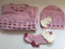 Cashmirino Baby Girl Cashmere Gift Set - 9 months