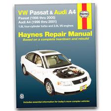 Haynes 96023 Repair Manual Volkswagen VW Passat 98-05 Audi A4 1.8L turbo ll