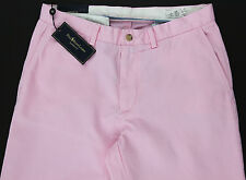Men's POLO RALPH LAUREN Pink Chino Twill Cotton Pants 34x32 NWT NEW Classic Fit