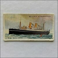 Wills Merchant Ships Of The World 9 S.S. Montrose Cigarette Card (CC12)