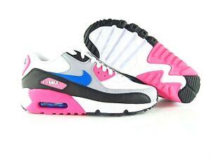Nike Air Max 90 LTR White Vivid Pink 833376 107 UK_5 Eur_38/38.5