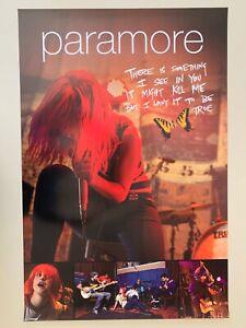 PARAMORE,MUSIC BAND,RARE LICENSED 2010 POSTER