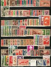 Algérie 1924/58 - Superbe Lot de 375 timbres Neufs **/* Beaucoup Bonnes Valeurs