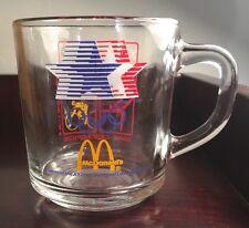 Vintage 1984~McDonald's~Olympics Glass Cup/Mug ~XXIIIrd Olympiad in LA/USA  #26