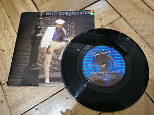 """gary numan white boys and heroes 7"""" vinyl record very good condition"""