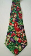 Brand New Novelty Tie. Vegetables Gardener Greengrocer Theme. Great Present