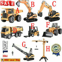 HuiNa Toys 1/14 2.4G 15CH Alloy Crane Truck Engineering Vehicle RC Car RTR