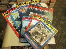 1914/1918.la grande guerre . lot revues avec CD