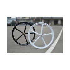 Set Wheels Alloy 5 Races star5 fixed Bike Single Speed Rad Fixie Mag Rims Wheel