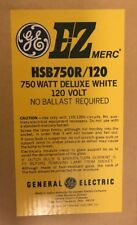 GE EZ MERC HSB750R/120  Light Bulb 750W Deluxe White 120 Volt Mogul Base