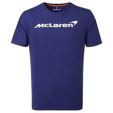 McLaren Essentials Logo T-Shirt in Blue
