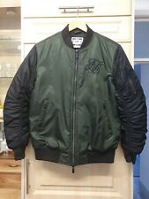 Mena Green/ Black SikSilk Bomber Jacket UK Small