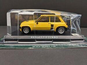 Altaya 1/43 Scale Model Car IR06 Renault 5 Turbo - Yellow