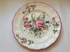Gorgeous Hand Painted French Faience Plate by Andree Moinard c1940's