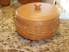 Longaberger Hostess Happy Halloween Basket With Protector And Wood Lid