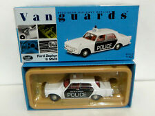 lledo Vanguards VA04603 Ford Zephyr 6 - Plymouth Police - Mint in Box