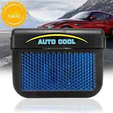 Solar Sun Powered Car Auto Vehicle Window Cooling Air Vent Cool Fan Ventilation