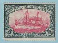 GERMAN SOUTH WEST AFRICA 34a  MINT NEVER HINGED OG * NO FAULTS VERY FINE!