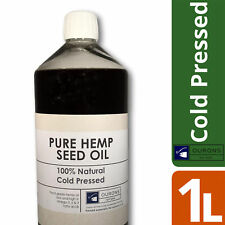100% Pure Cold Pressed Hemp Seed Oil 1 Litre