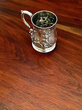 Robert Albin Cox George II English Sterling Silver Tankard 1752 London No Mono