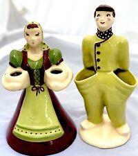 Antique Kim Ward Dutch Boy & Girl Large Early