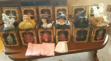 Wizard of Oz 50th anniversary limited edition musical jack-in-the-box Lot of 6