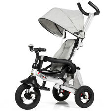 6-IN-1 Kids Toddler Tricycle Ride On Trike Toy Learning Bike Push Car Gift