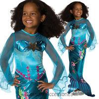 CK160 Blue Magical Mermaid Princess Ariel Book Week Fancy Dress Child Costume