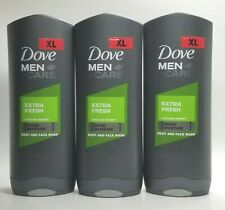 BUY-3-Dove Men +Care EXTRA FRESH Cooling Agent Body And Face Wash 400ML EACH