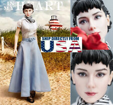 1/6 Audrey Hepburn Roman Holiday Female Figure Premium Full Set U.S.A. SELLER