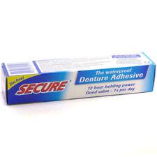 Secure Denture Adhesive Cream 40g Personal Hygiene Oral Dental Care Waterproof