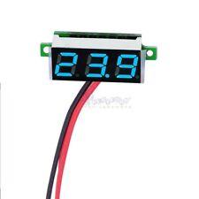 Digital Blue LED Car Voltmeter Voltage Panel Guage Meter DC 3.5-30V Mini