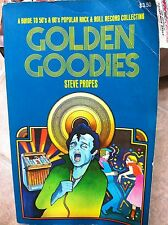 """RARE MUSIC BOOK-""""Golden Goodies""""-Steve Propes-Rare1st Edition!-Discontinued!-VG+"""