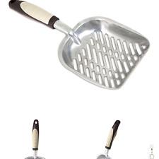 Petmate Metal Litter Scoop, Silver Standard
