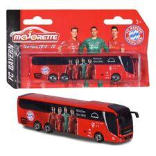 FC Bayern München Teambus Modell 1:100, Automodell Bus FCB - plus Lesezeichen I