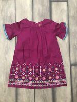 Genuine Kids Oshkosh Dress Toddler Girls Size 3T Boho Fringe