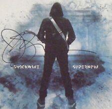 AUTOGRAPHED Shockwave Supernova Joe Satriani CD Signed