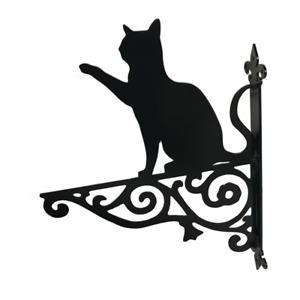 Cat Playing Ornamental Hanging Basket Bracket Cats Hanger