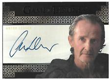 2017 Game of Thrones Valyrian Steel Anton Lesser Autograph AUTO Qyburn