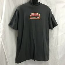 Lollapalooza 2008 Gray T Shirt XL Radiohead Kanye RATM American Apparel USA