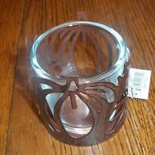 "YANKEE CANDLE - Votive Holder ""  METAL PUMPKIN VOTIVE HOLDER  "" #1262082"
